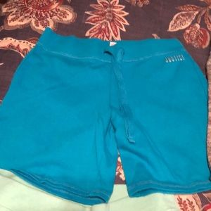 4 pair Justice knit shorts size 14